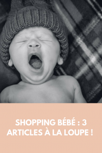 shopping bébé